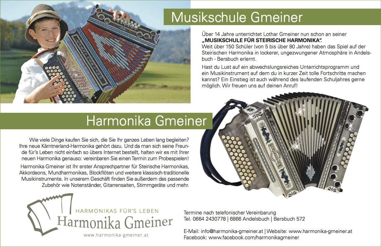 Harmonika Gmeiner in der Heimat