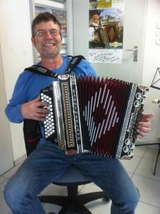 Wendelin mit seiner Kärntnerland Silber Edition